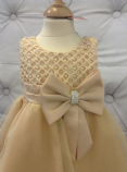 Gold  Pearl and Sparkle Dress
